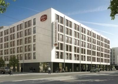 München, Hotelprojekt, Orleansstraße