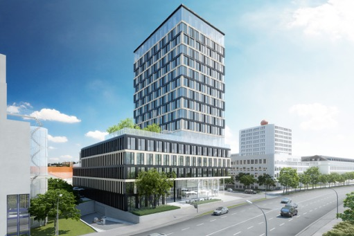 Vermietung der 10. Etage des HIGHRISE one an CTT Computertechnik AG