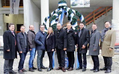 """Reiß & Co. feiert mit 250 geladenen Gästen Richtfest des Münchener """"HIGHRISE one"""""""