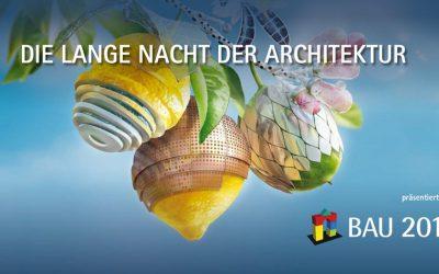 """Reiß & Co. leuchtet  mit dem Highrise One bei  der  """"Langen Nacht der  Architektur"""""""