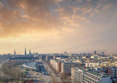 Hamburg, Adenauerallee 18-25 Stadtteil St. Georg